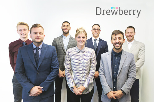 Drewberry's team of Brighton financial advisers celebrate achieving 1,000 5-star customer service reviews