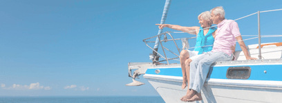 boat retirement - financial advice with goals