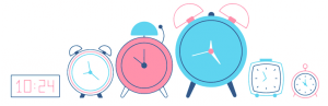 clocks-vector