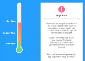 Drewberry Income Riskometer Calculator
