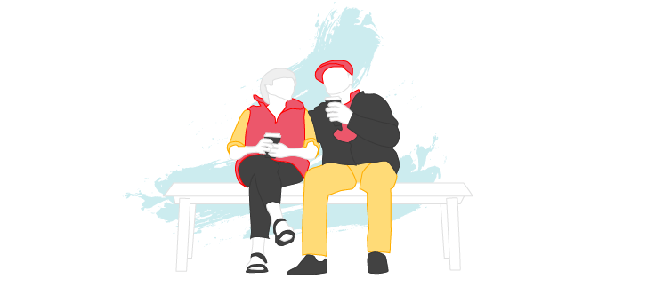 couple searching