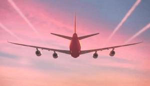 plane-red-sky